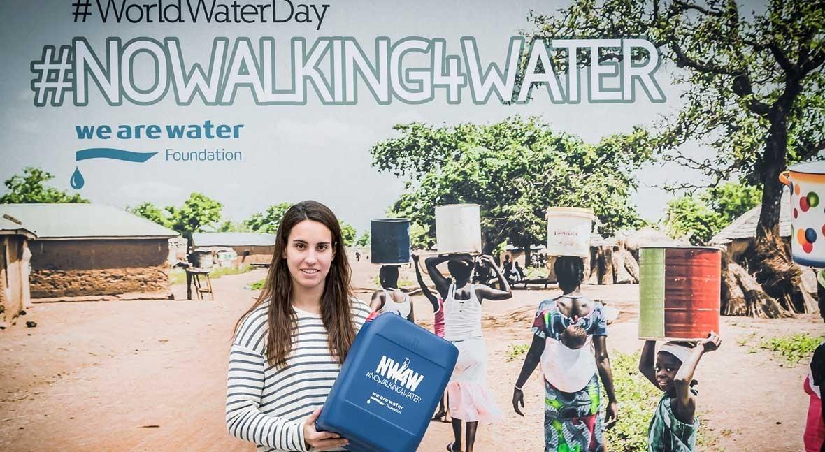 Deportistas, periodistas y actores se unen Fundación We Are Water #NoWalking4Water