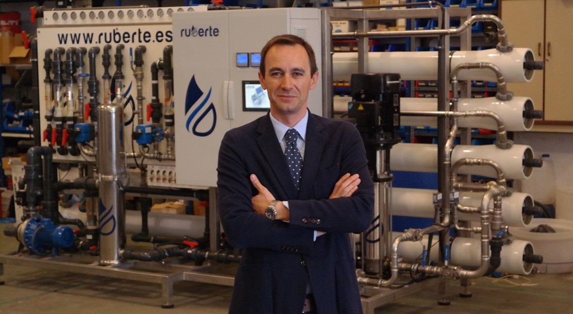 """""""RUBERTE se especializa ingeniera proceso tratamiento agua industria"""""""