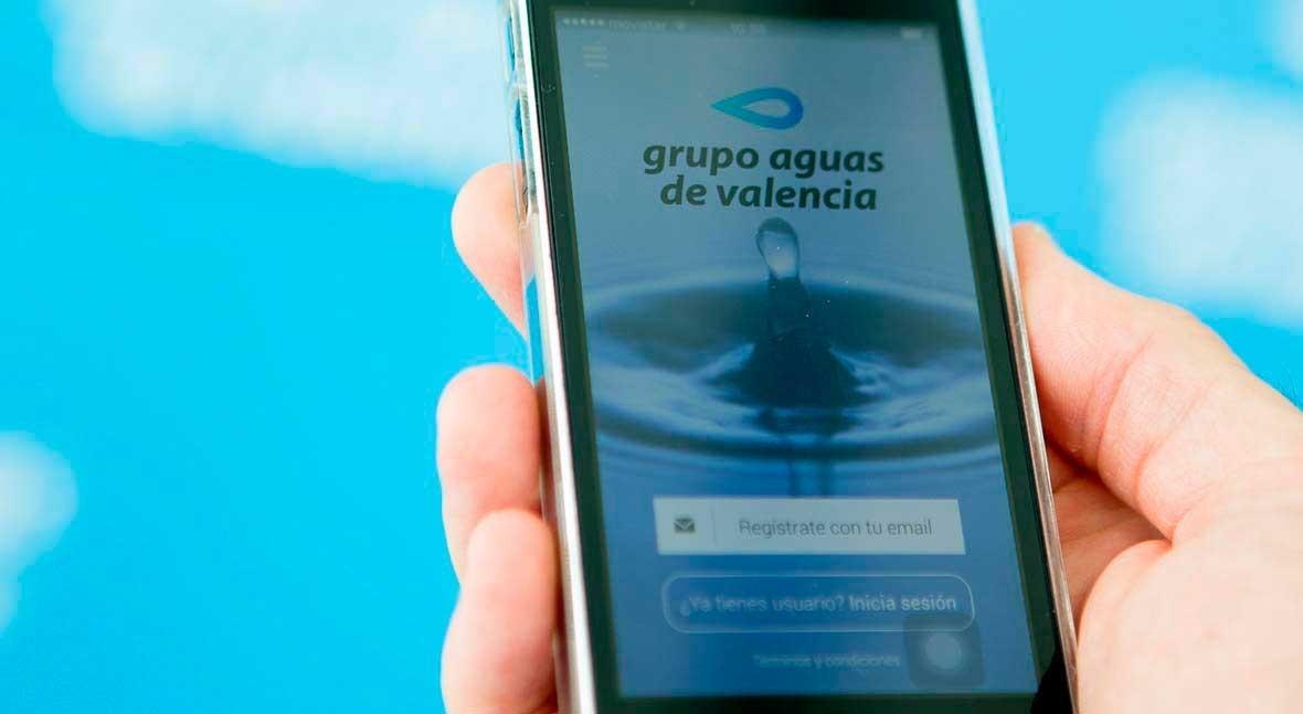 Aguas de valencia lanza su app m vil para facilitar la for Aguas de valencia oficina virtual