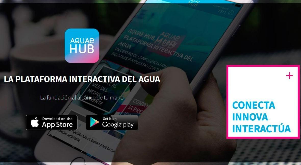 Fundación Aquae lanza Aquae HUB, gran plataforma interactiva agua