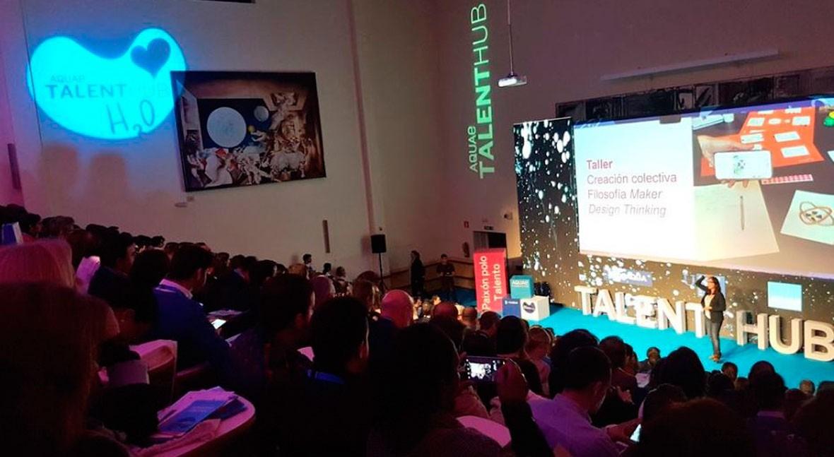 Aquae Talent Hub reúne Santiago más 400 emprendedores, profesionales y estudiantes