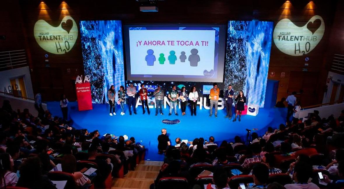 Aquae Talent Hub reúne Málaga 500 jóvenes dispuestos cambiar mundo