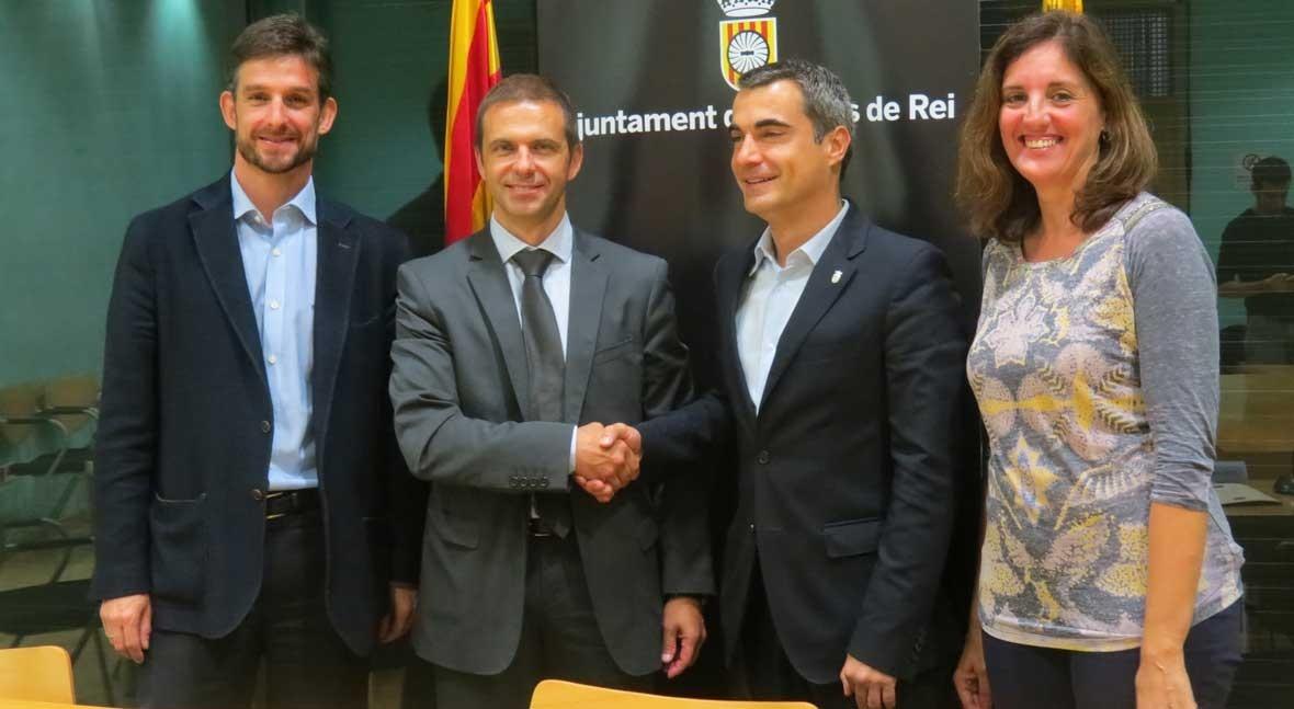 Ayuntamiento Molins Rei y Aqualia crean Fondo Solidaridad familias recursos