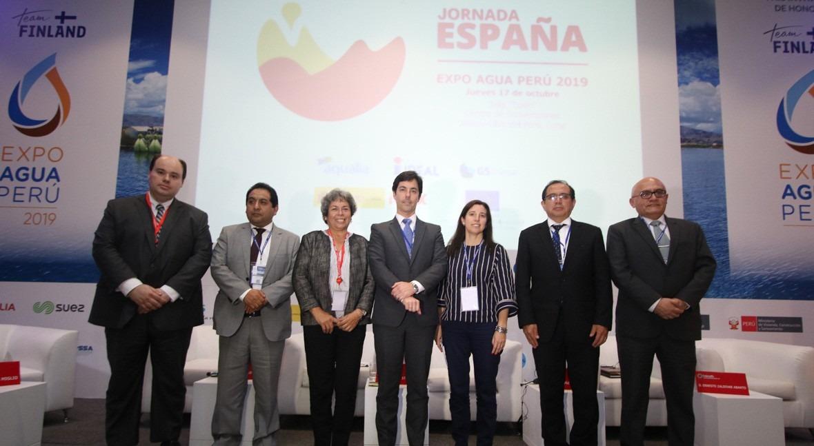 beneficio colaboración público-privada gestión agua, debate Expoagua