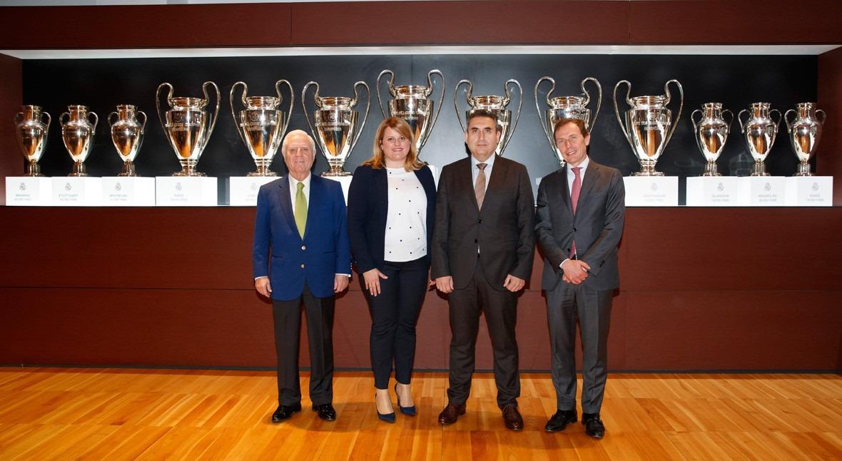 Aqualia, Fundación Real Madrid y Mazarrón, juntos integración niños