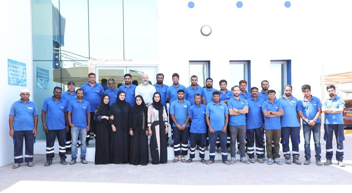 año gestión ejemplar servicios hídricos puerto Sohar, Omán