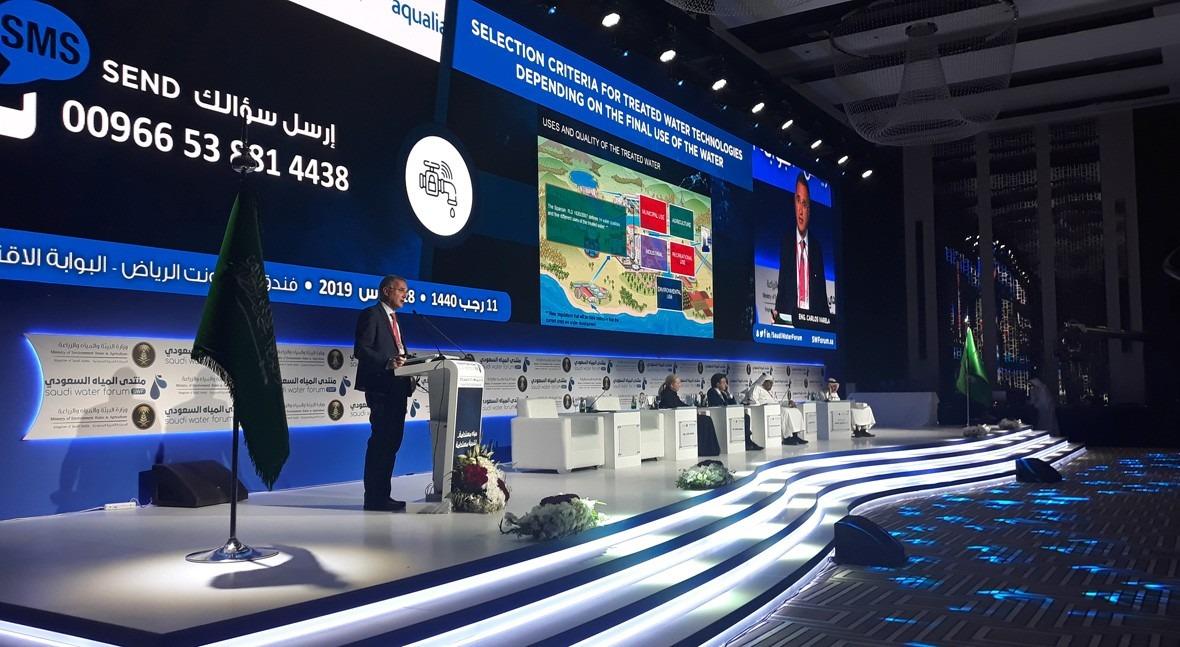 Soluciones sostenibles gestión agua Arabia Saudí