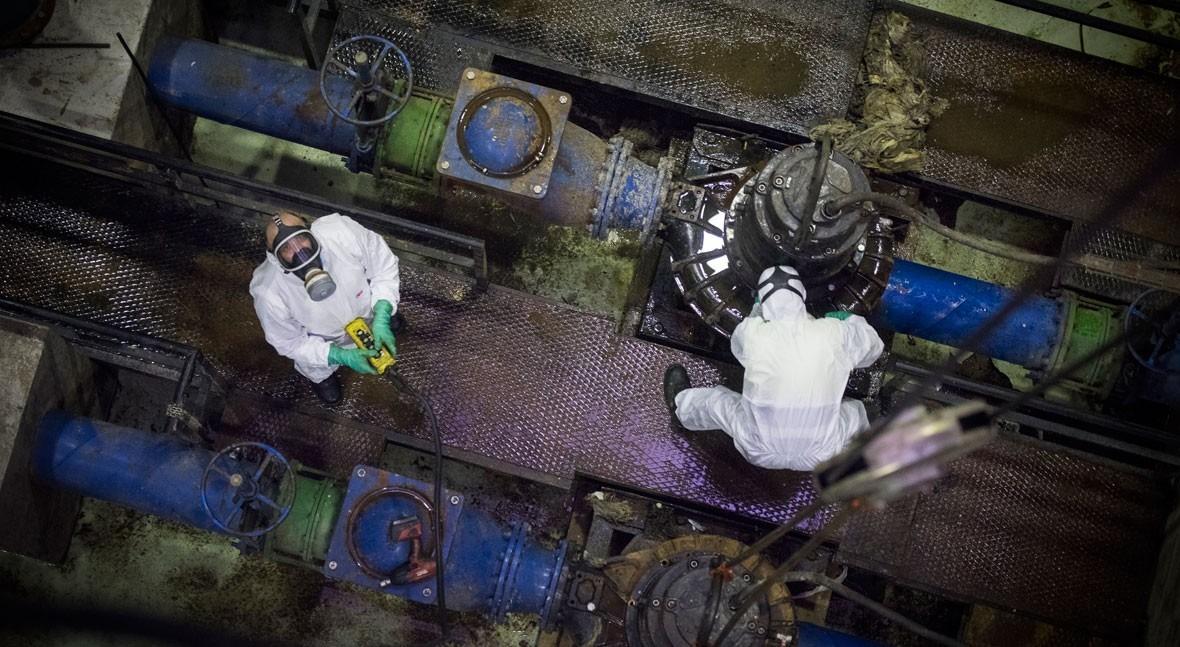 """""""Guardianes agua"""": trabajadores invisibles servicio esencial frente al coronavirus"""