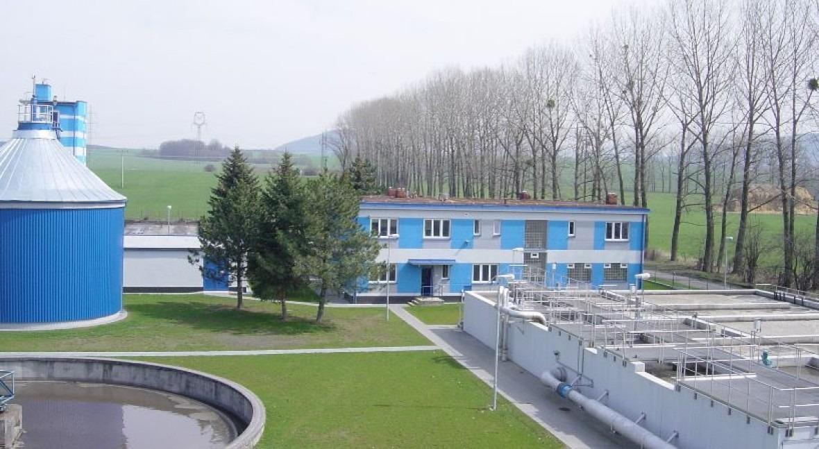 Depuradora de Novy Jicin, una de las instalaciones operadas por SmVak.