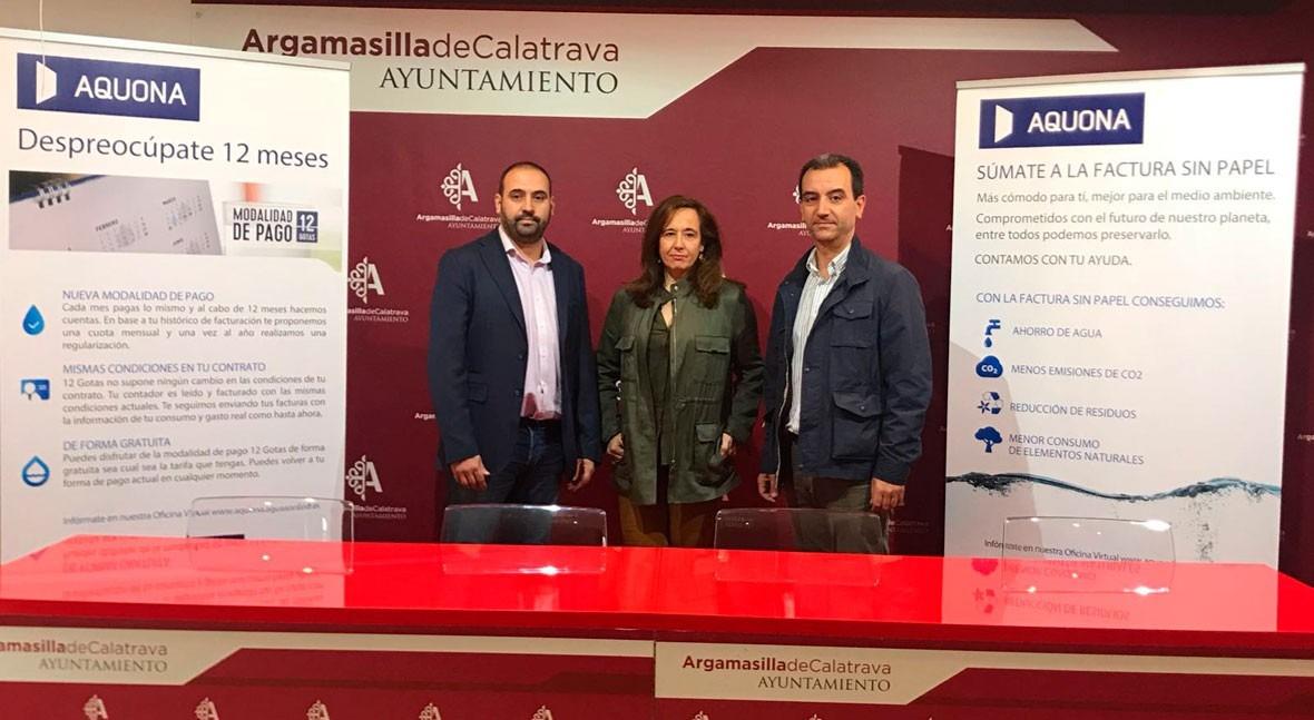Argamasilla Calatrava y Aquona crean Fondo Social familias vulnerables