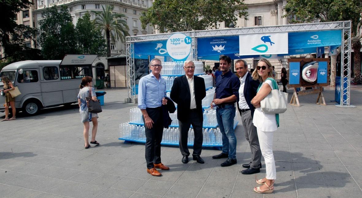 Aguas Valencia y Oceanogràfic invitan miles valencianos conservar medio ambiente