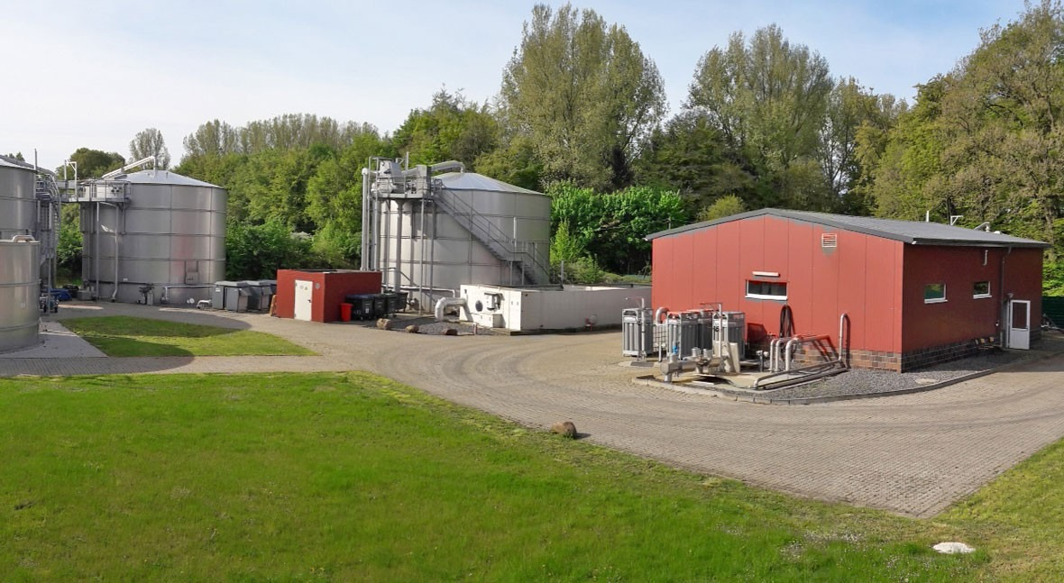 Gestión PTAR análisis online DQO industria lechera Alemania