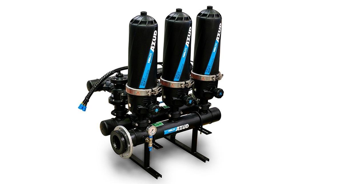 AZUD HELIX AUTOMATIC, filtración eficiente adaptada distintos tipos agua y sectores