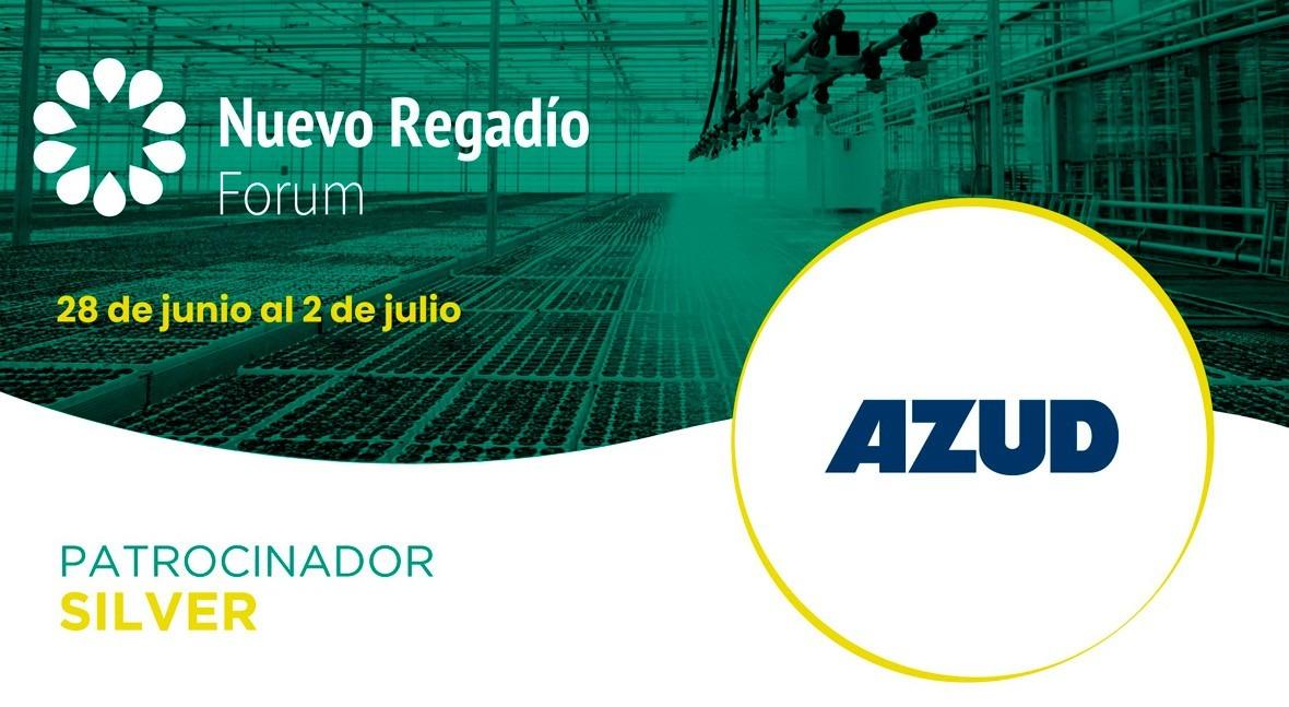 AZUD, referente internacional soluciones riego, Silver Sponsor Nuevo Regadío Forum