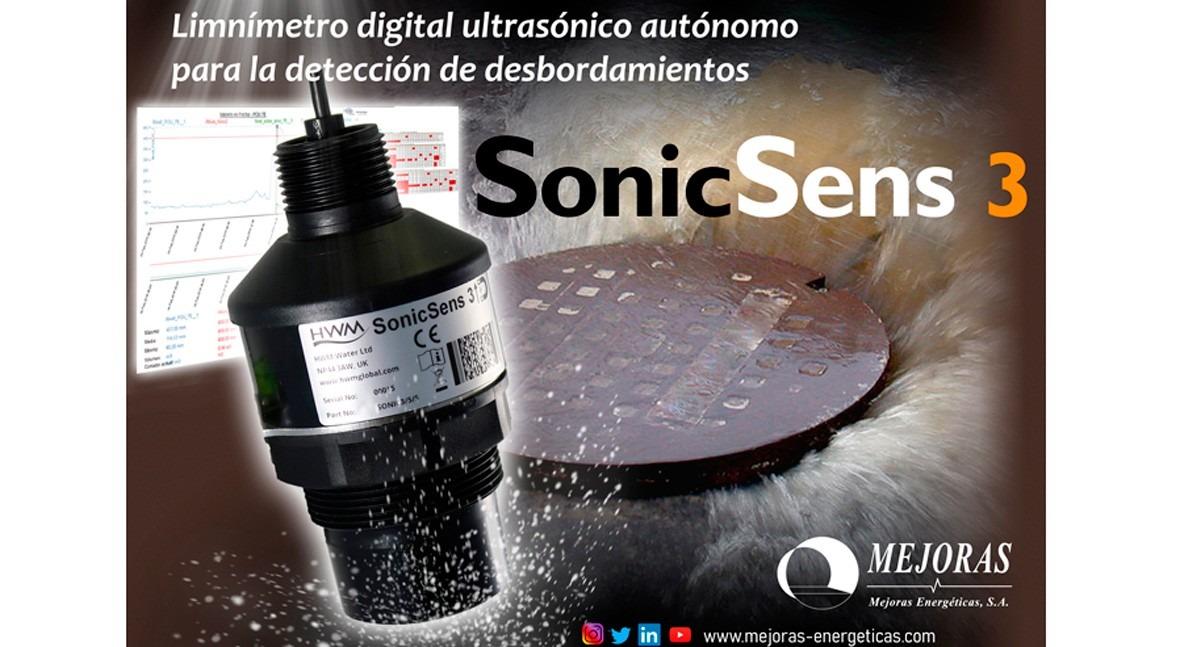 SonicSens 3, nuevo limnímetro digital Grupo Mejoras