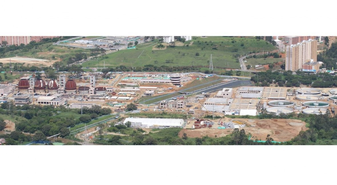 Avance EDAR Bello, situada Medellín, Colombia