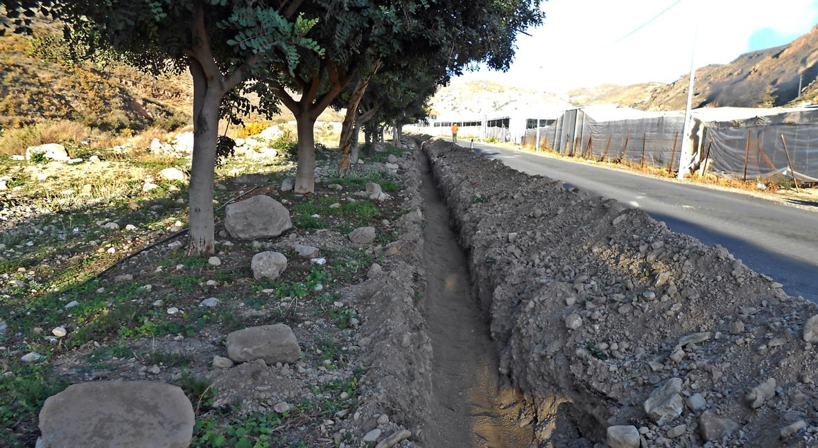 Aqualia comienza obras mejorar suministro barrios Berja