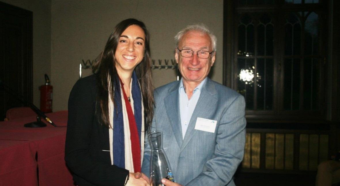 Marina Arnaldos ACCIONA Agua, Premio Asociación Belga Water Investigación