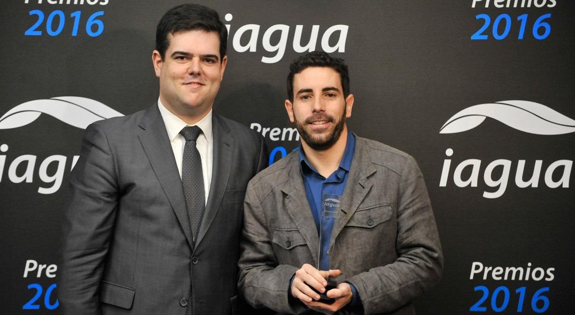 Luis Martín Martínez se alza galardón Mejor Blog Premios iAgua 2016