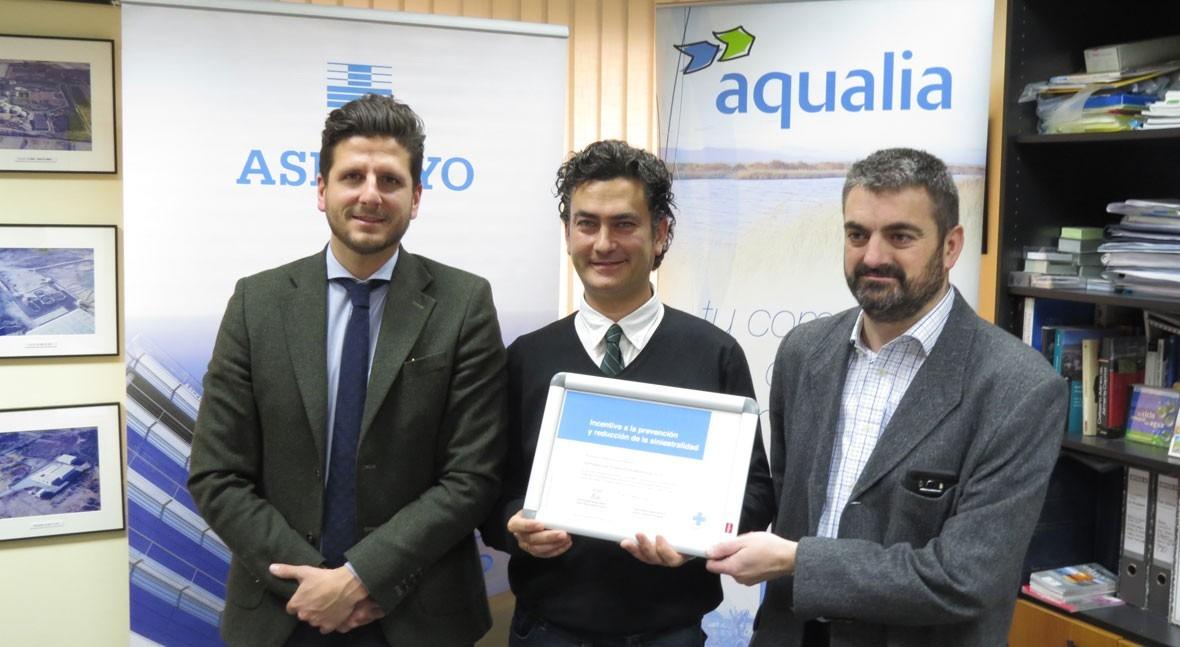 Aqualia, premiada buena gestión contratos depuración Poniente Almeriense