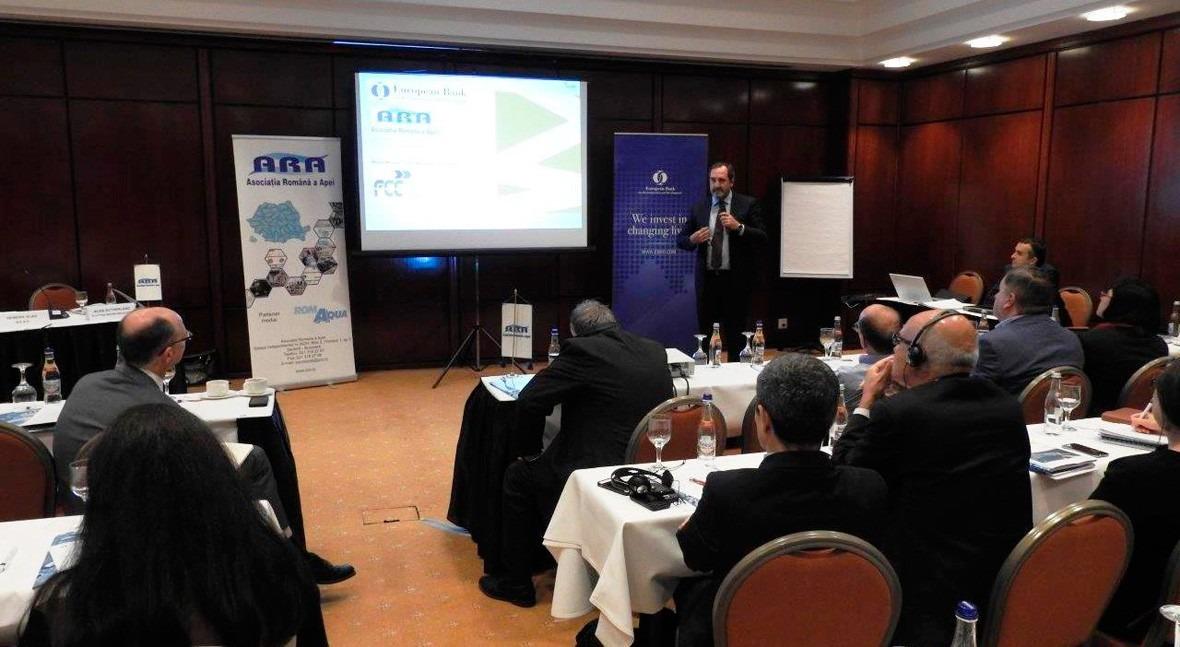 Aqualia presenta Rumanía proyecto Smart Water desarrollo ciudades inteligentes