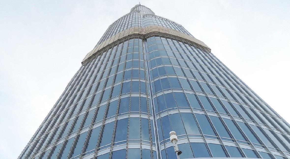 Burj Khalifa: Agua edificio más alto mundo