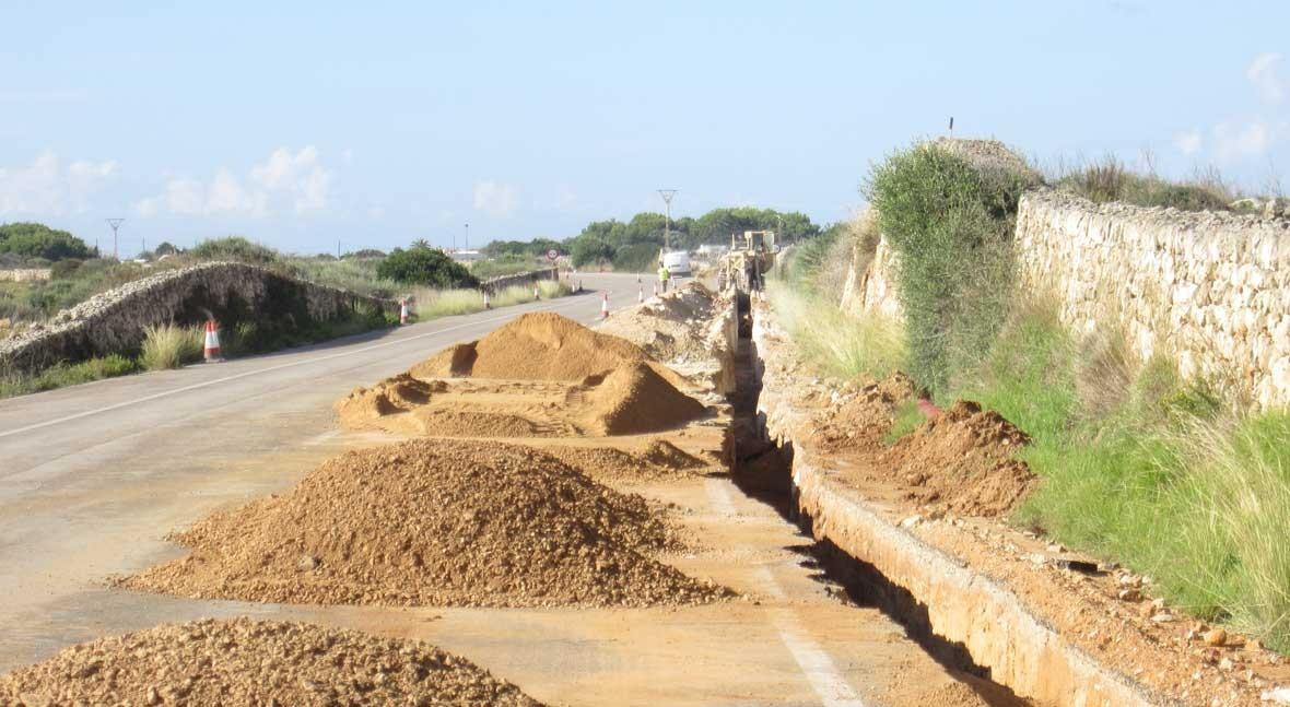 Saint-Gobain PAM mejora saneamiento Cala Morell tuberías gama Integral