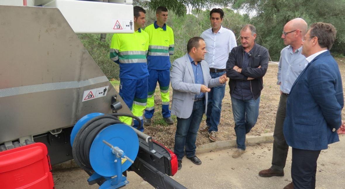 Nuevo cami n del servicio de alcantarillado de llucmajor - Agencias de limpieza barcelona ...