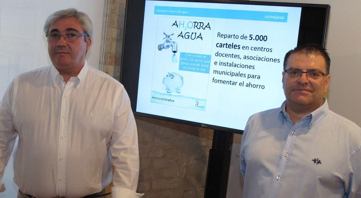 Jaén y Somajasa llaman al ahorro agua campaña concienciación