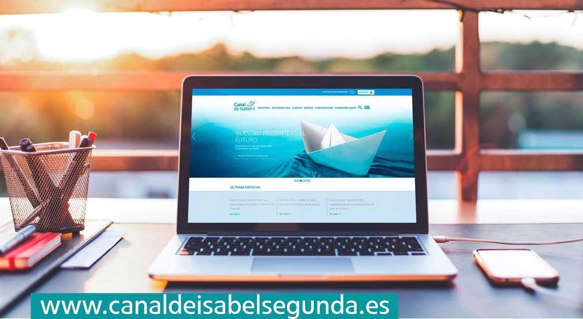Canal Isabel II estrena web corporativa contenidos medio ambiente y ciclo agua
