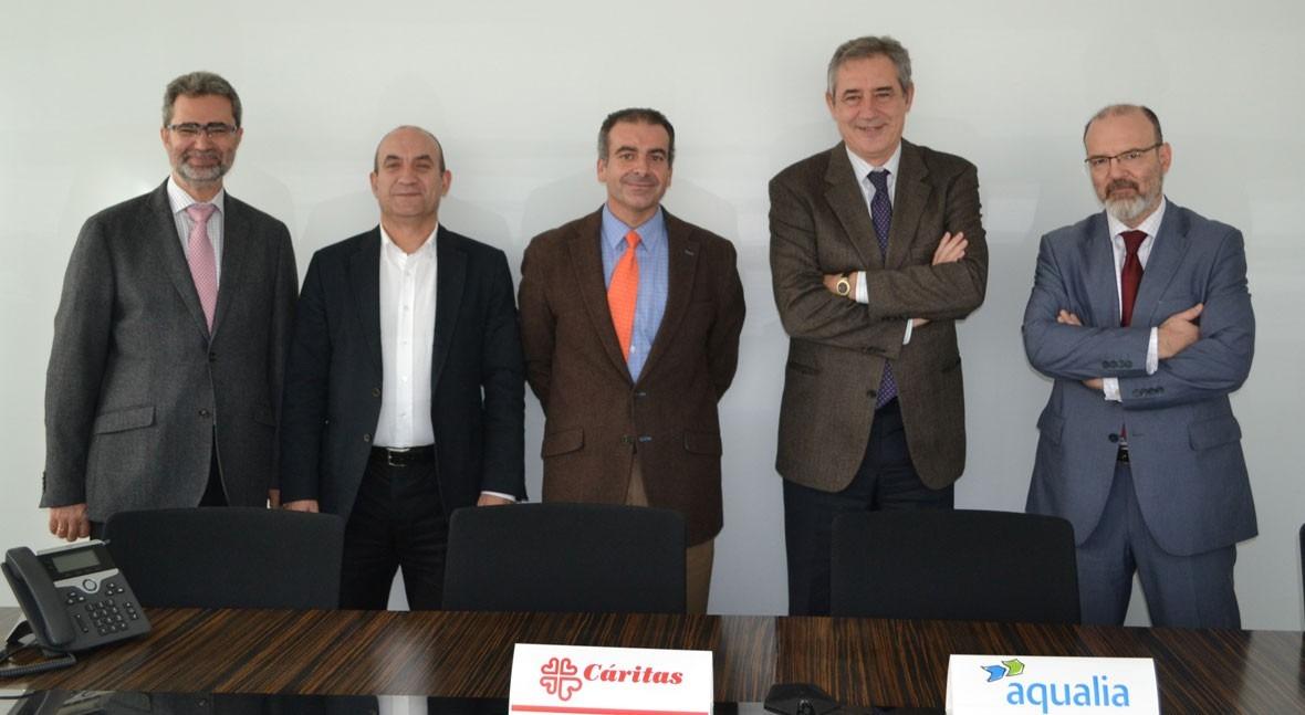 Aqualia y Cáritas Española, juntos mejorar condiciones vida más desfavorecidos