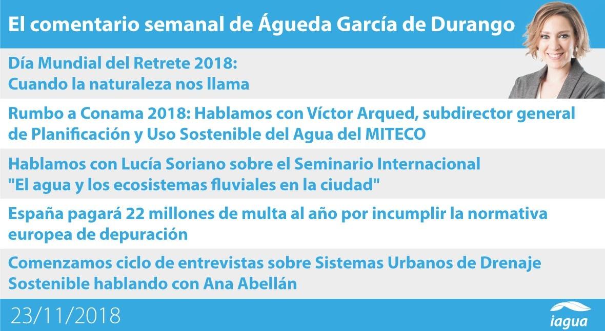 multa depuración España y Día Mundial Retrete, lo mejor semana iAgua