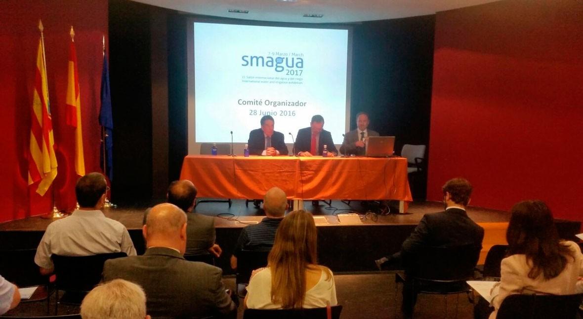 7 salones Feria Zaragoza, ellos SMAGUA, reconocidos internacionalidad 2017
