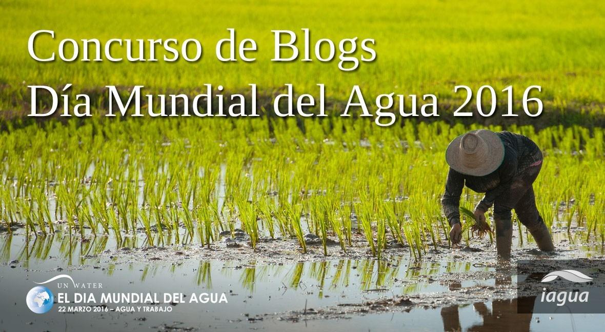 iAgua celebra Día Mundial Agua lanzamiento concurso blogs
