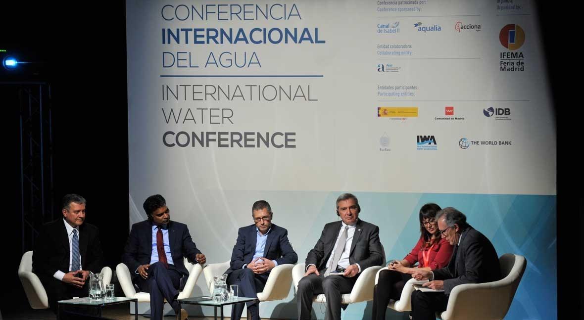 nuevos retos y soluciones agua y ciudades sostenibles, debate Madrid