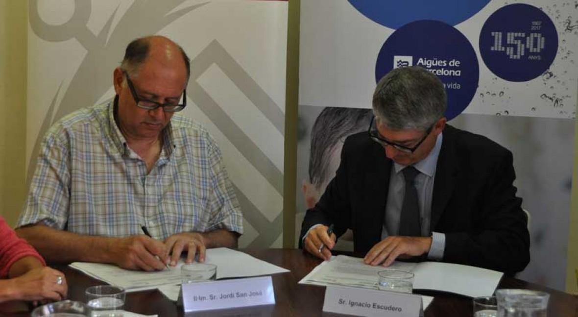 Sant Feliu y Aigües Barcelona garantizarán agua quien no pueda pagar