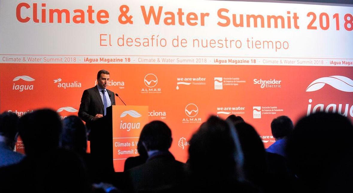 Agua y cambio climático, centran ponencia Almar Water Solutions Climate & Water Summit