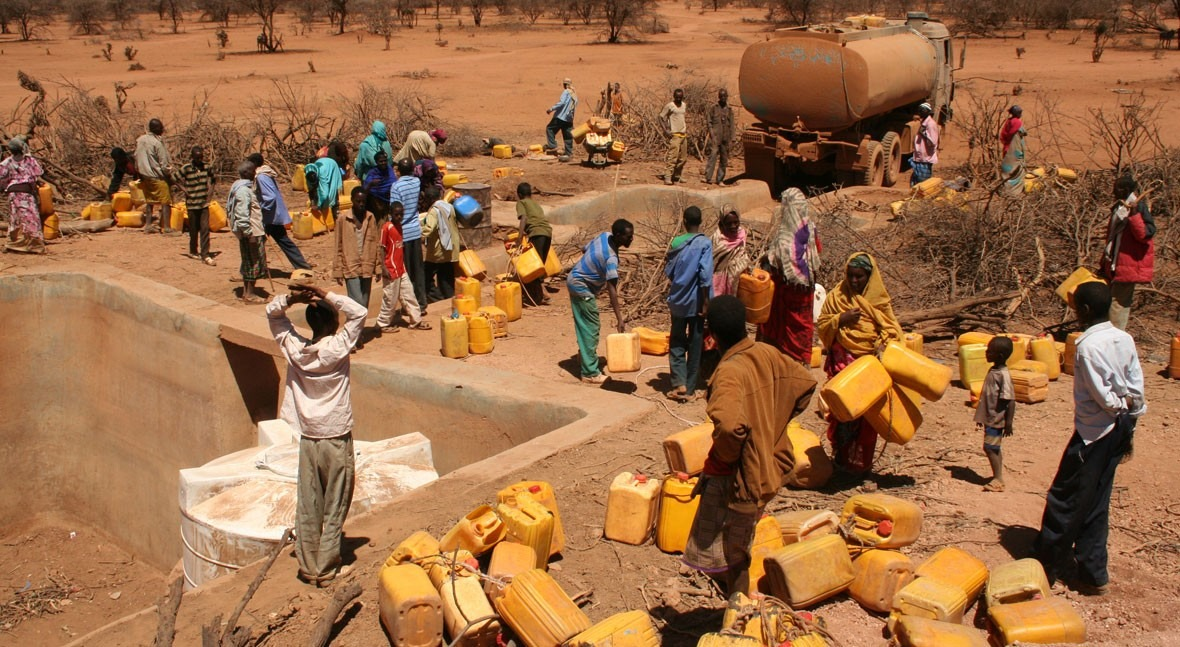 Agua y crisis humanitarias: Cuando dejamos atrás