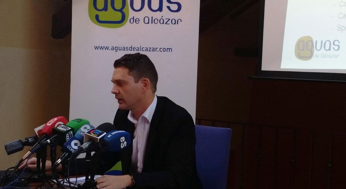Aguas Alcázar presenta Plan gestión sostenible Servicio