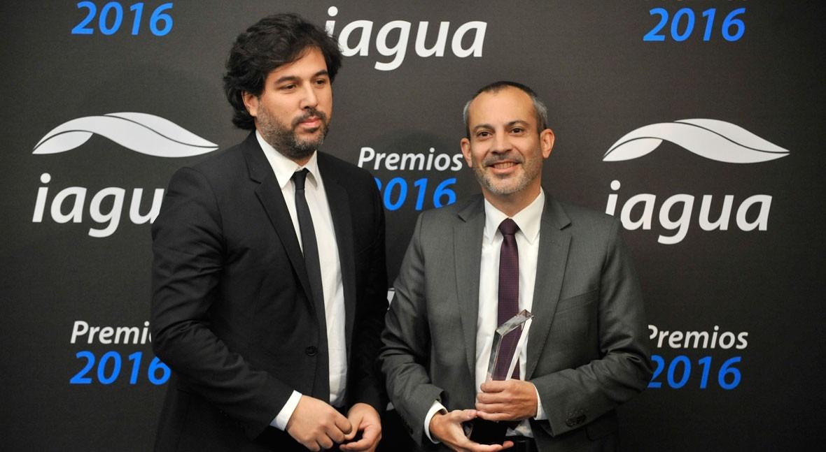 CAF se consolida como Mejor Organismo Internacional Premios iAgua 2016