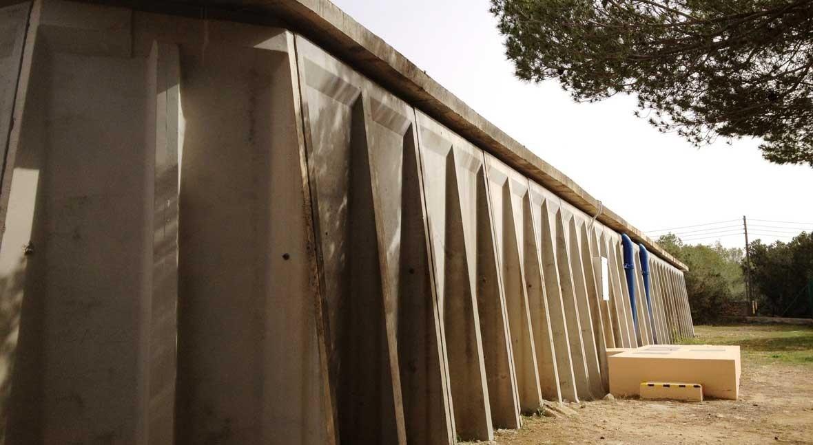 Se realizan mejoras depósito agua Sant Ferran
