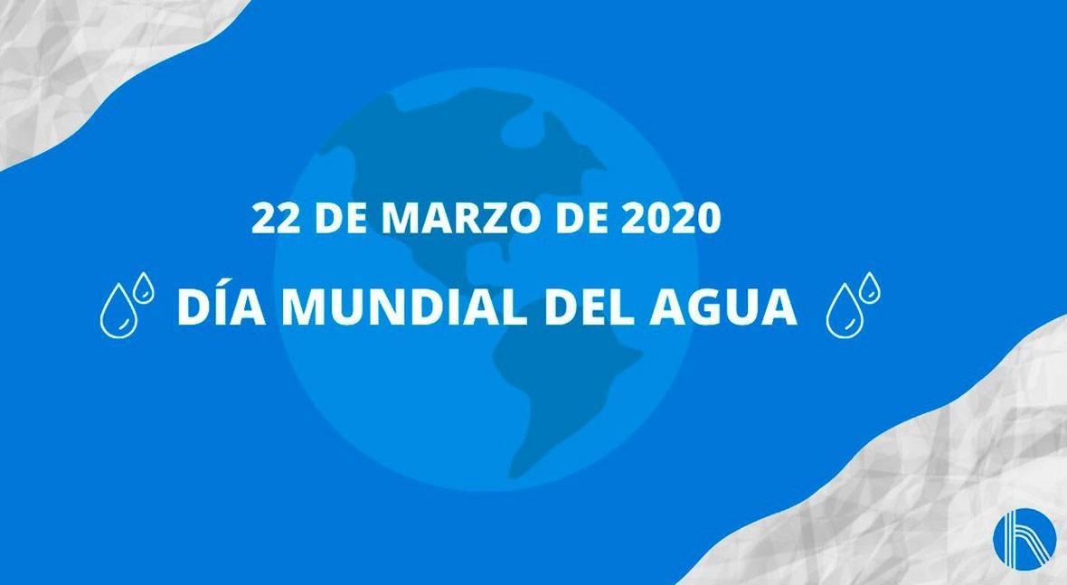 22 marzo: Día Mundial Agua