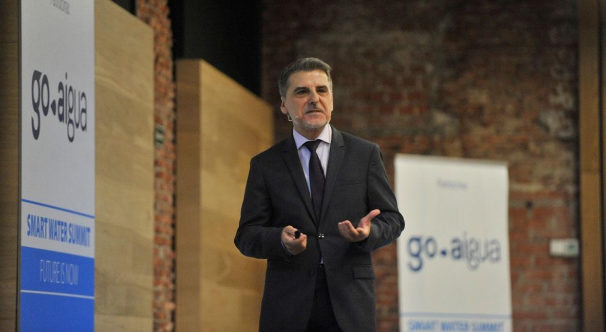 """D. Zarzo: """" sector desalación y reutilización español es muy potente internacionalmente"""""""