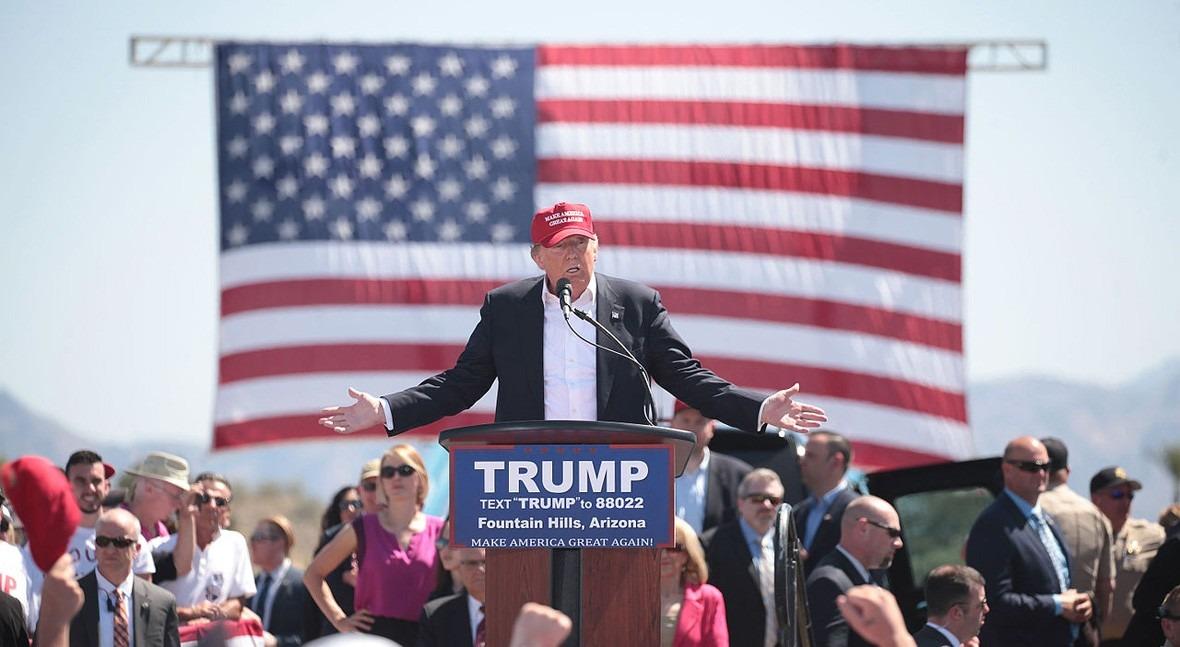 """agua Estados Unidos lo que va """"era Trump"""""""