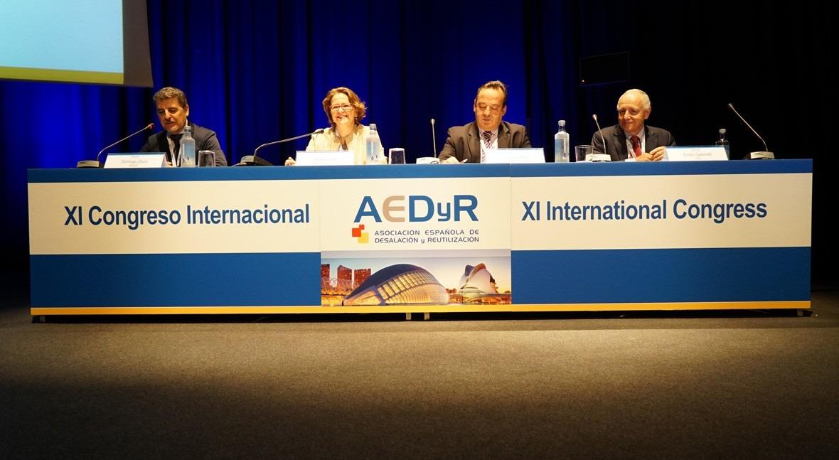 AEDyR cierra congreso marcado diálogo desalación y reutilización agua