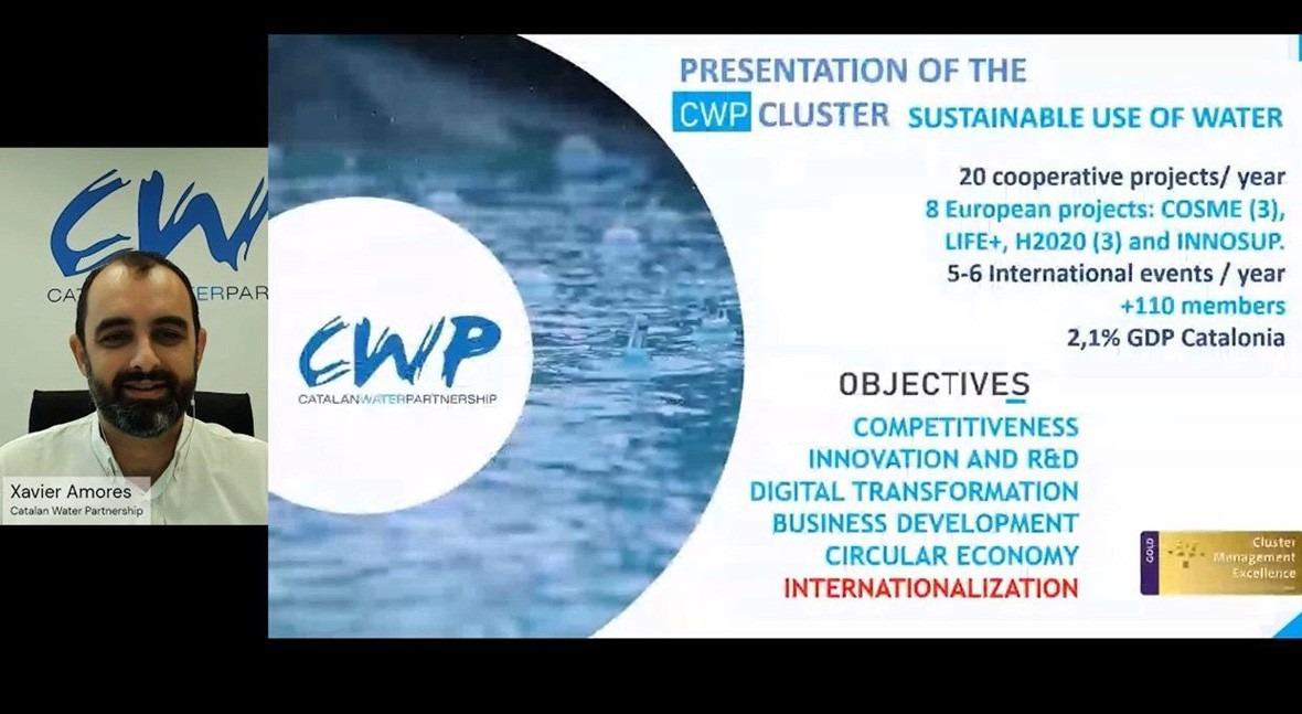 Catalan Water Partnership participa jornada Capacity Building Webinar organizada ECPP