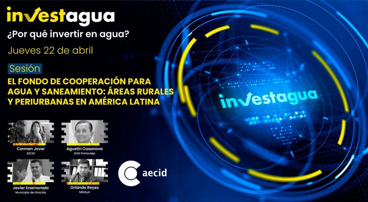 FCAS muestra INVESTAGUA avances materia agua áreas rurales latinoamericanas