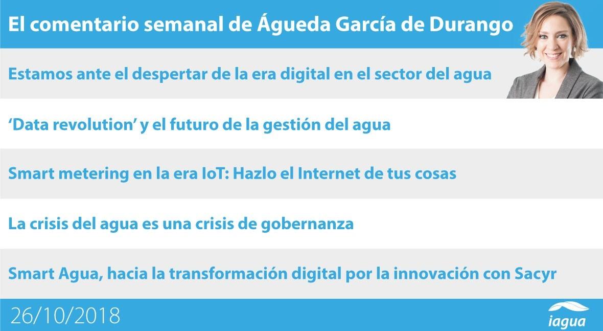 futuro digital gestión agua y crisis gobernanza, lo mejor semana iAgua