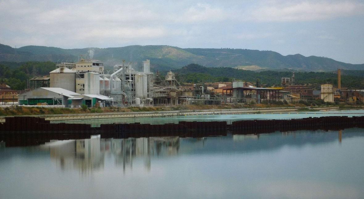 trama Acuamed planeaba verter agua contaminada al río Ebro