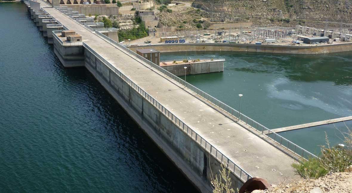 reserva hidráulica española se encuentra al 57 % capacidad